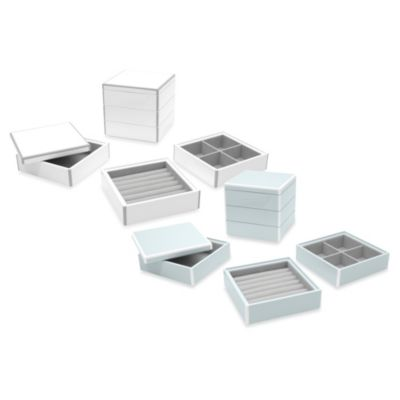 Swing Design™ Elle Lacquer Jewelry Display Box - Set of 3