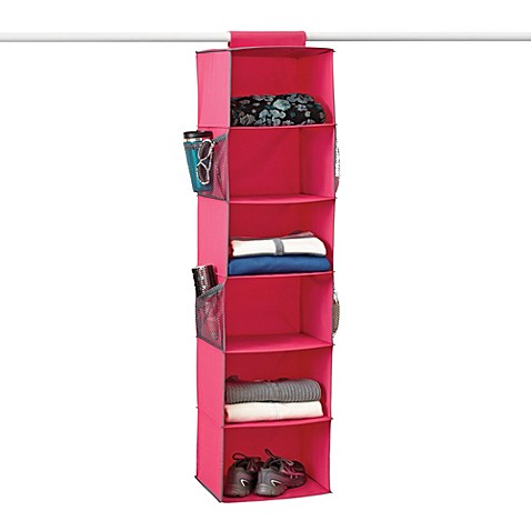 Gearbox 6-Shelf Azalea Sweater Organizer