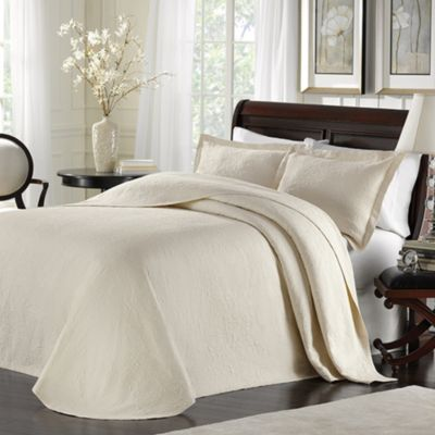 Lamont Home™ Majestic Full Bedspread in Ivory