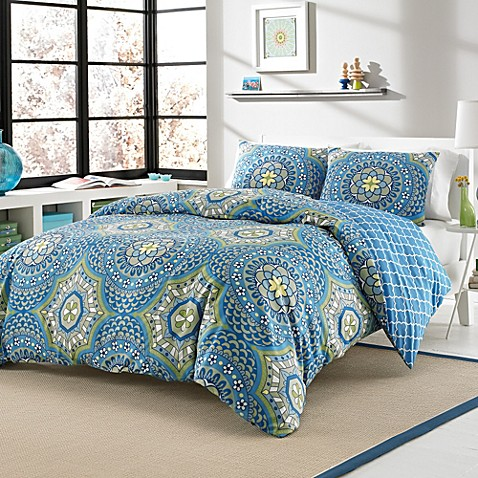 Layla 3-4 Piece Reversible Duvet Cover Set