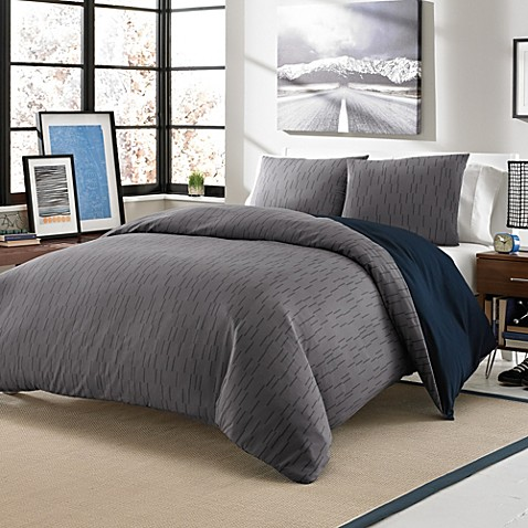 Carter 3-Piece Twin XL Reversible Duvet Cover Set