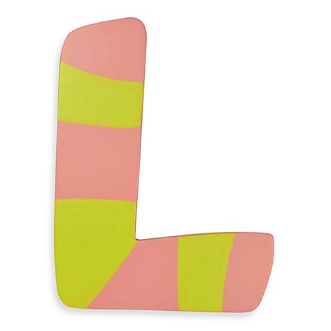 Buy Pastel Colored Wooden Letter Quot L From Bed Bath Amp Beyond