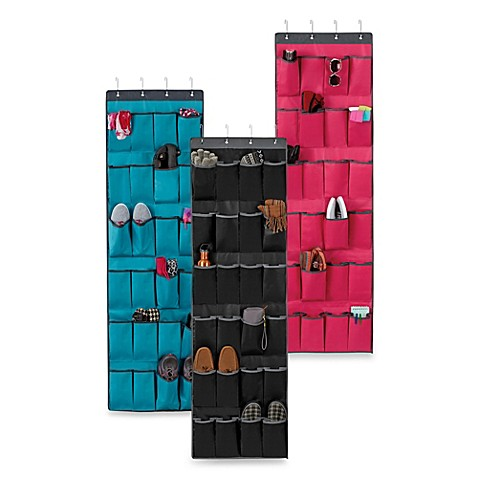Over-the-Door 24-Pocket Shoe Organizer