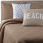 Solid Seashell Sand Pillow Shams