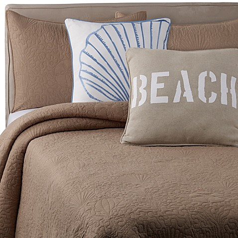 Solid Seashell Sand European Pillow Sham