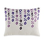Steve Madden Brooke Embroidered Square Toss Pillow