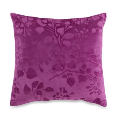 Steve Madden Brooke Sculpted Fleece Square Toss Pillow