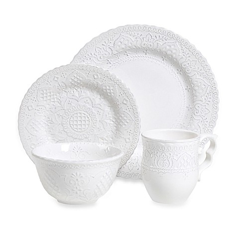 Tabletops Unlimited™ Rochelle 4-Piece Place Setting