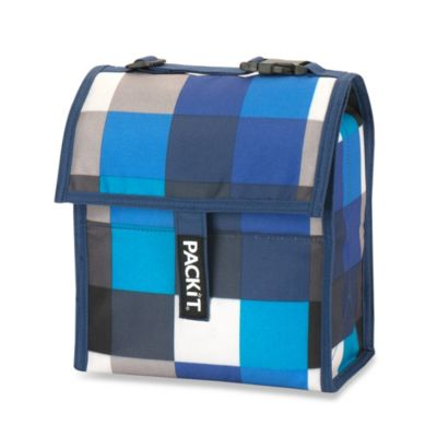 PackIt® 8-Inch Lunch Bag in Boxy Blue