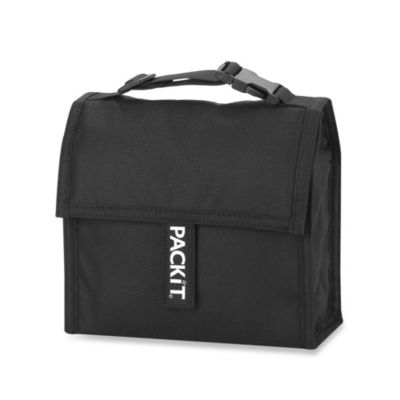 PackIt® Mini Lunch Bag in Black