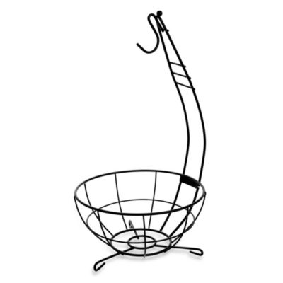 Fruit Bowl Banana Hanger in Black