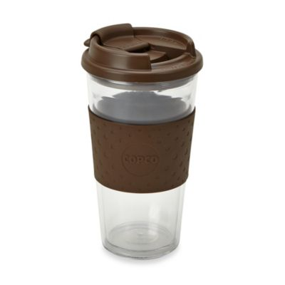 Brew View 16-Ounce Double Wall Tritan Cup with Lid