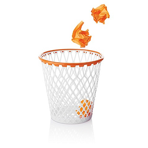 Spalding hoopster crunch time basketball net wastepaper basket - Garbage can basketball hoop ...