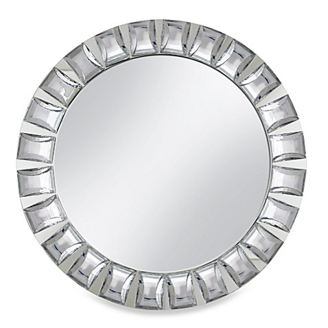 Chargeit! By Jay Mirror Big Beads Charger Plate s in Silver (Set of 4)