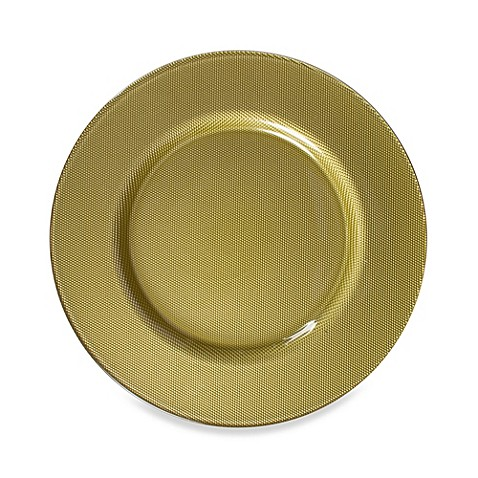 Chargeit! By Jay Reflex Charger Plates in Gold (Set of 4)