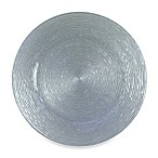 Chargeit! By Jay Charger Plates in Silver Glitter (Set of 4)