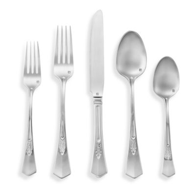 Parisian 20-Piece Stainless Steel Flatware Set