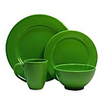 Waechtersbach Fun Factory 16-Piece Table Setting in Green Apple