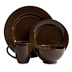 Waechtersbach Fun Factory 16-Piece Table Setting in Chocolate