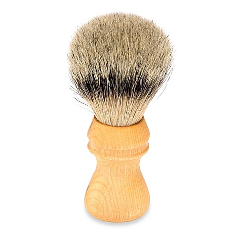 Gold-Dachs Chess Piece Best Badger Shaving Brush with Rubberwood Handle