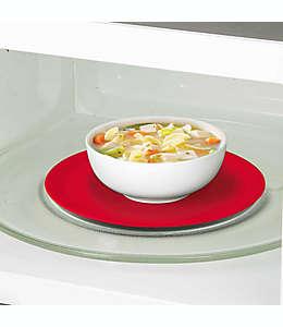 Prep Solutions Tapete de silicón para microondas , 24.13 cm en rojo