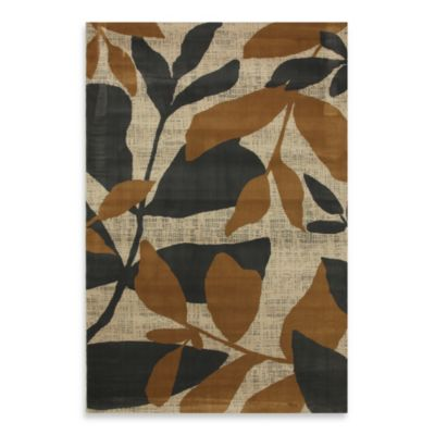 Mohawk Home Gold Botanical Rugs in Ash Grey