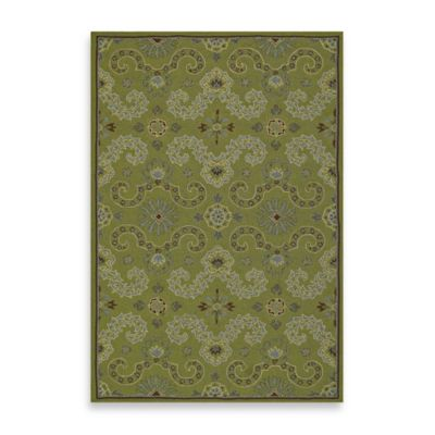 Kaleen Isle of Hope Indoor/Outdoor Rug in Celery