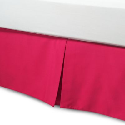 Smoothweave™ 14-Inch Tailored California King Bed Skirt in Azelea