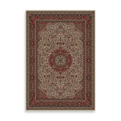 Concord Global Trading Isfahan 2-Foot x 3-Foot 3-Inch Rug in Ivory