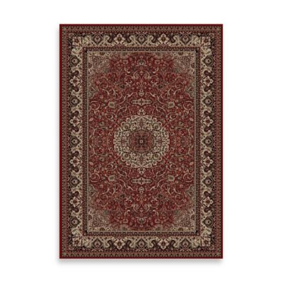 Concord Global Isfahan Red 7-Foot 10-Inch x 11-Foot 2-Inch Rug