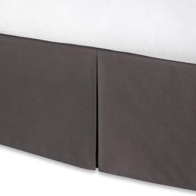 Smoothweave™ 14-Inch Tailored King Bed Skirt in Grey