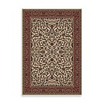 Concord Global Trading Jewel Kashan Rug in Ivory