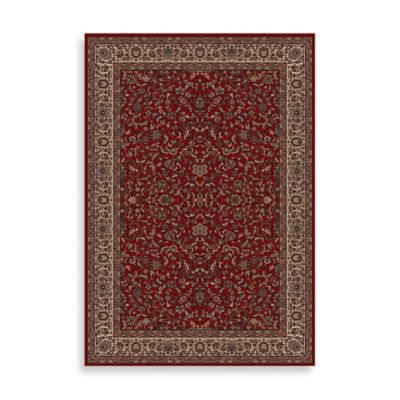 Concord Global Trading Jewel Kashan Rug in Red