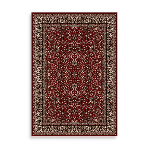 Concord Global Trading Jewel Kashan 2-Foot x 3-Foot 3-Inch Rug in Red