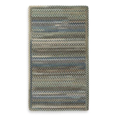 Capel Kill Devil Hill Indoor Braided Rug - Dark Green