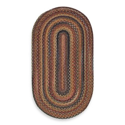 Capel Kill Devil Hill Multi Oval Indoor Braided Rug