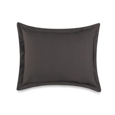 Smoothweave™ Tailored Standard Pillow Sham in Grey