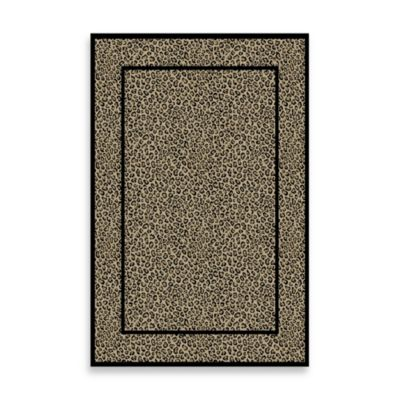 Concord Global Leopard Beige 7-Foot 10-Inch x 9-Foot 10-Inch Rug