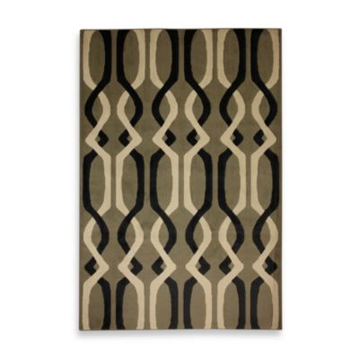 Mohawk Home Linked Lines Shitake Indoor Rugs