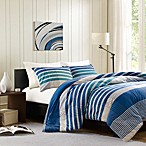 Ink + Ivy Connor Duvet Cover and Sham Set in Blue