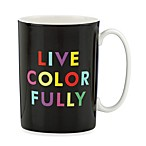 kate spade new york Things We Love Live Colorfully Mug by Lenox