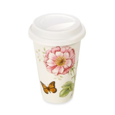 Lenox® Butterfly Meadow® 12-Ounce Travel Mug