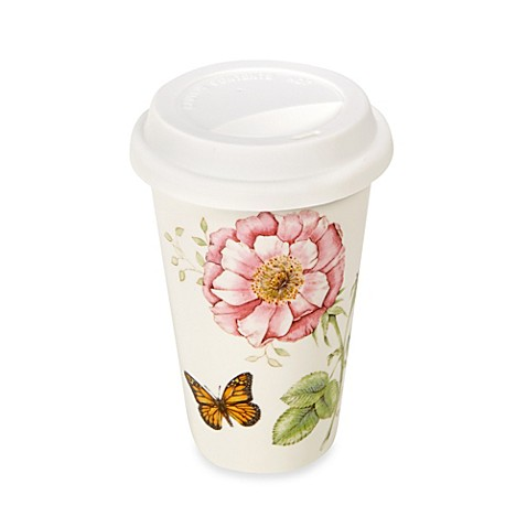 Lenox® Butterfly Meadow® 12 oz. Travel Mug