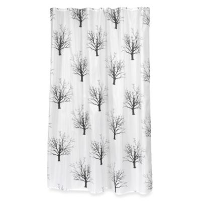 Carnation Home Fashions Faith Shower Curtain