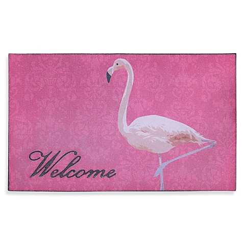 Flamingo Door Mat Bed Bath Amp Beyond