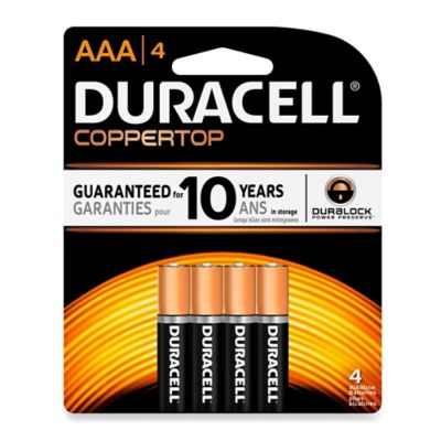 AAA Batteries 4 Packs