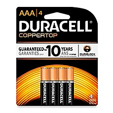 Duracell® AAA Battery (4 Pack)