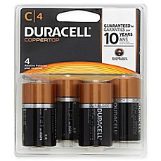 Duracell® C Battery (4 Pack)