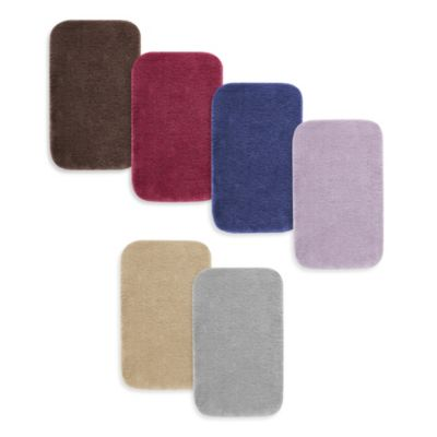 Heritage 23-Inch x 38-Inch Bath Mats in Colors
