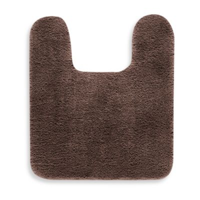 Heritage Contour Bath Mat - Brown